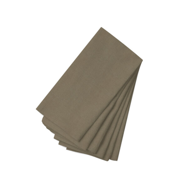 Cocoa Linen Napkin-6 Pack