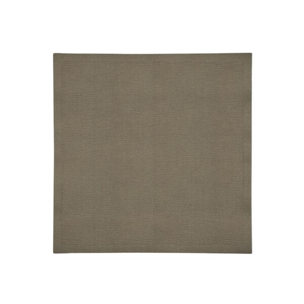 Cocoa Linen Napkin Flat