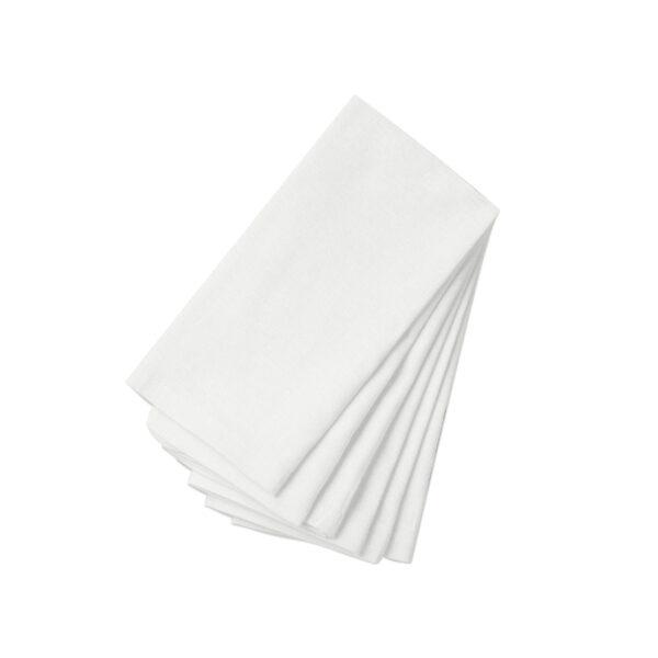 White Linen Napkins-set of 6