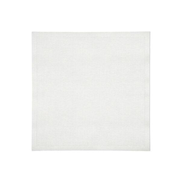 White Linen Napkin-Flat